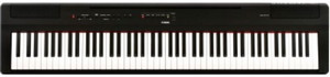 Test avis piano numérique portable Yamaha P-125 BK